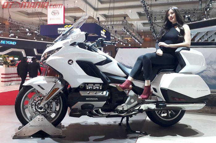 Honda Gold Wing 2018 salah satu motor ternyaman saat ini