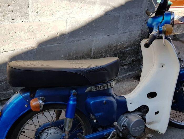 Suzuki FR70 sebelum direstorasi