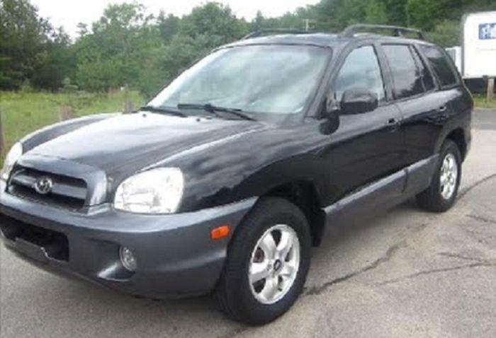 Ilustrasi. Hyundai Santa Fe 2005.