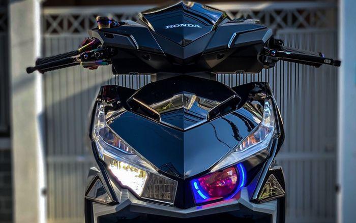 Tampak depan Honda Vario 150 modifikasi