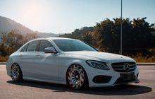 Mercedes-Benz C250 Stance Bikin Mata Melirik, Kaki-Kakinya Ciamik
