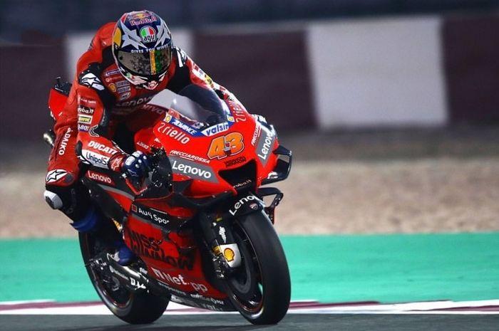 Rider Ducati, Jack Miller jadi yang tercepat pada tes pramusim MotoGP 2021 di Qatar.