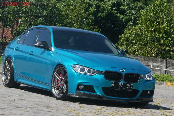 Modifikasi BMW F30 335i Power 430 dk