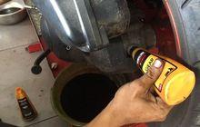 mengganti oli gardan motor matic jangan kelebihan, ini efeknya