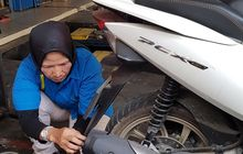 bagaimana proses uji emisi di motor,  ada bagian yang perlu dibongkar?