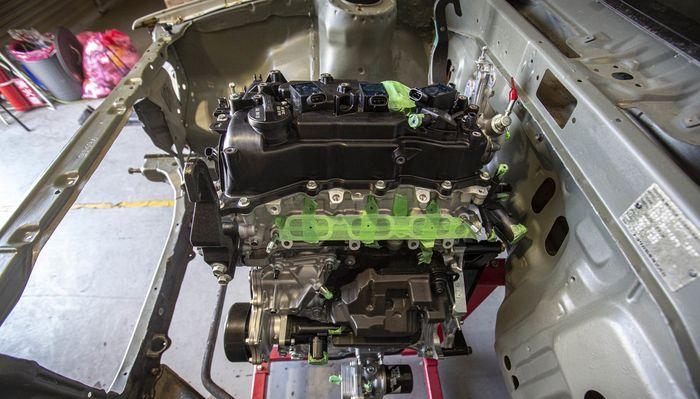 Mesin GR Yaris dimasukan ke dalam Toyota Corolla Levin