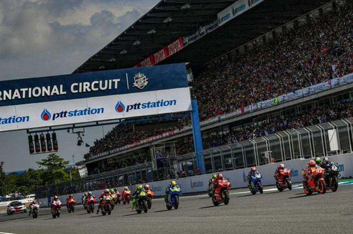 Ilustrasi MotoGP Thailand