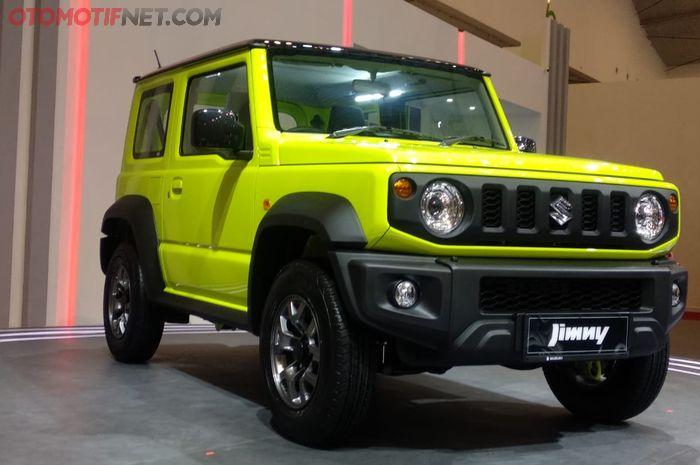Suzuki All New Jimny Dibanderol Mulai Rp 315 Juta