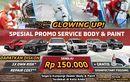 Waktunya Glow up, Mitsubishi Adakan Promo Perbaikan Body dan Cat