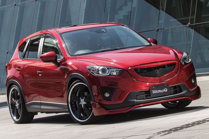 Modifikasi Mazda CX-5 lawas hasil garapan KRC Modified