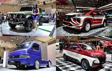 deretan mobil modif di giias 2019, dari avanza merah putih hingga new suzuki carry pasang suspensi udara!