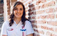 Kenalin Nih! Tatiana Calderon, Pembalap Cantik di F2 dan Test Driver Alfa Romeo Racing