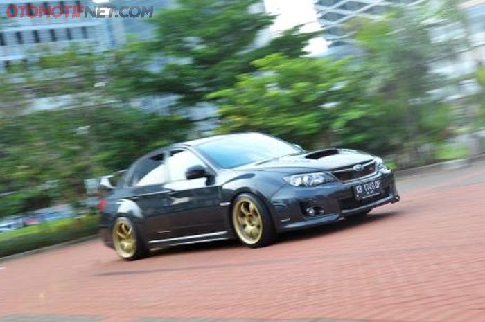 Subaru Impreza WRX STI 2013 usai modifikasi  sang pemilik