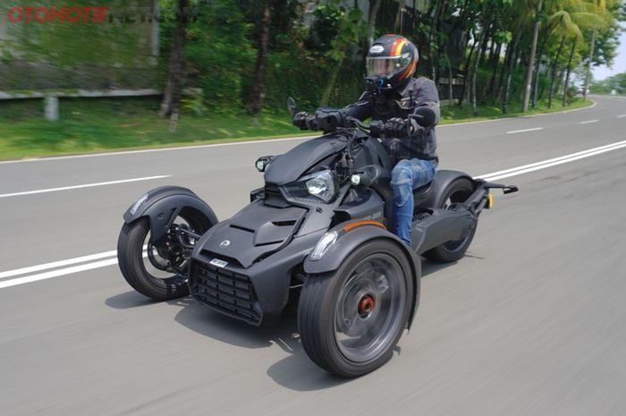 Can-Am Ryker dibekali mesin 900 cc 3 silinder segaris