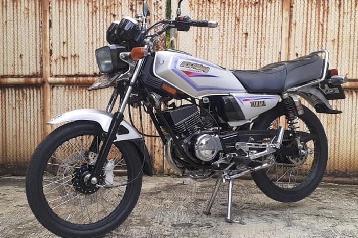 Yamaha RX-King 1991 restorasi dan modifikasi
