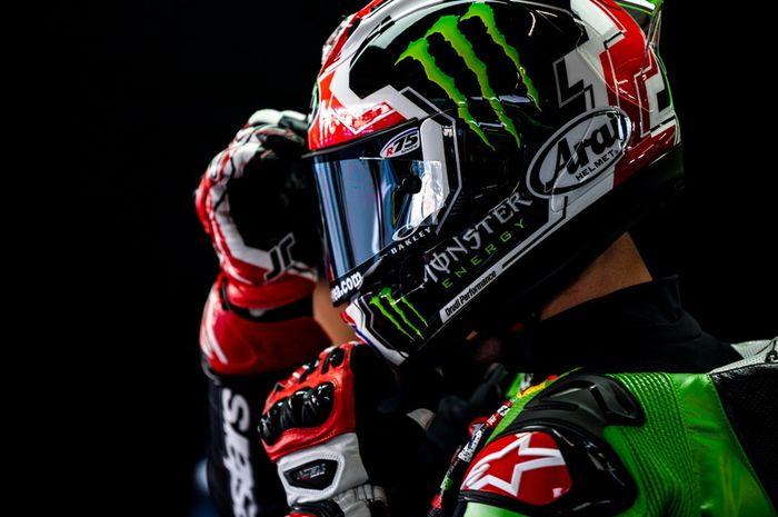 Pembalap tim Kawasaki, Jonathan Rea