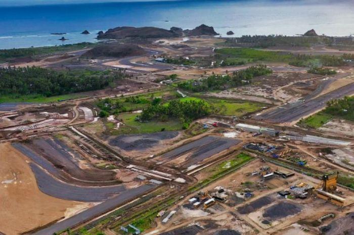 Calon tuan rumah gelaran MotoGP 2021, Begini kondisi terkini pembangunan sirkuit Mandalika Indonesia