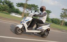 Test Ride Smoot Tempur, Skutik Listrik Murah Cuma Rp 14 Jutaan, tapi Canggih!