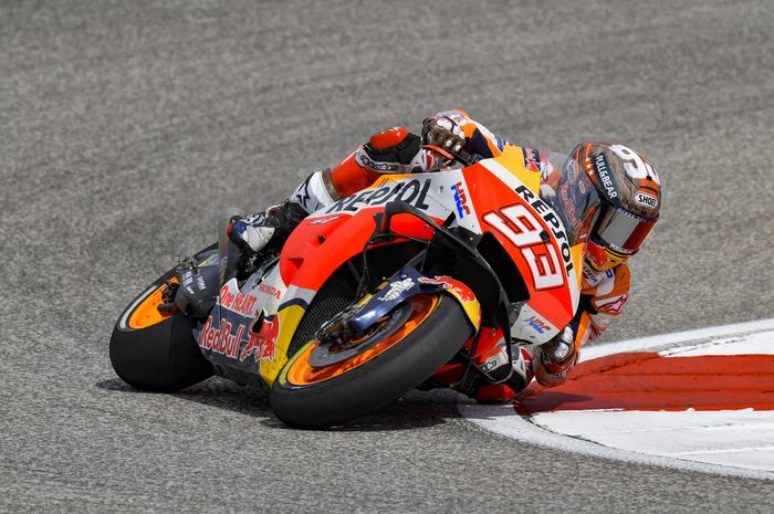 Dalam Kondisi Terbaik, Ini Target Marc Marquez di MotoGP Emilia Romagna 2021