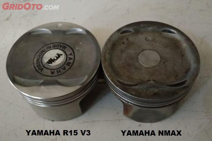 Perbandingan piston Yamaha NMAX dengan Yamaha  R15 V3