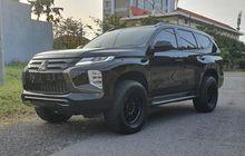 Modifikasi Mitsubishi Pajero Sport Baru, Tampil Serba Hitam Garang Banget