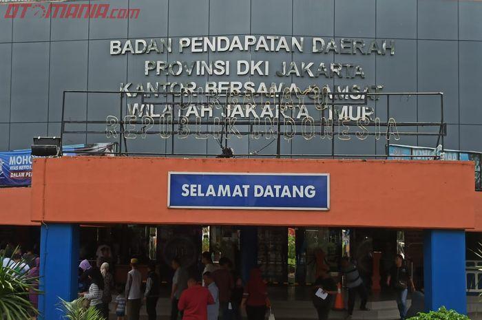 Ilustrasi pemutihan pajak kendaraan Jakarta