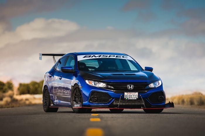Modifikasi Honda Civic Hatchback Turbo milik bos bengkel BMSPEC, Amerika Serikat