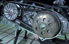 Bisa Dipakai Sampai 24.000 Km, V-belt Motor Matic Harus Dicek Tiap Km Segini