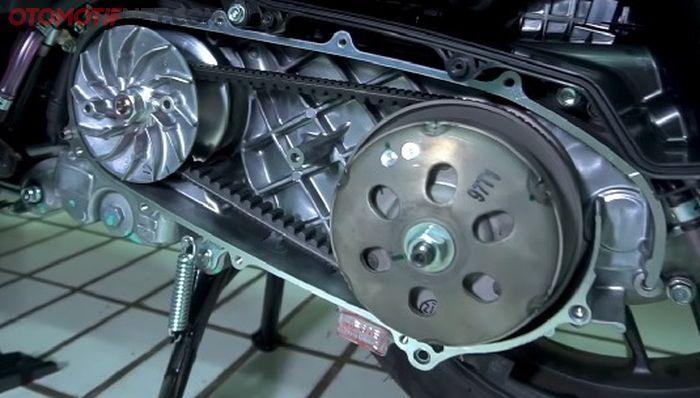 Ilustrasi CVT motor matik