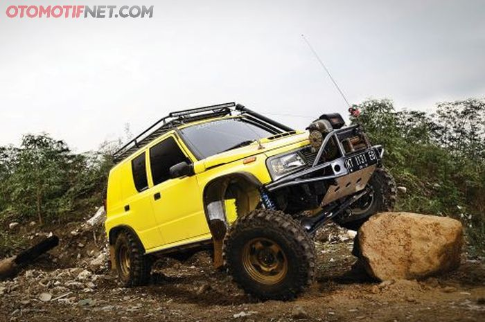 Modifikasi Suzuki Vitara 1993, Disebut Bodon karena gak tau mau 'disiksa'