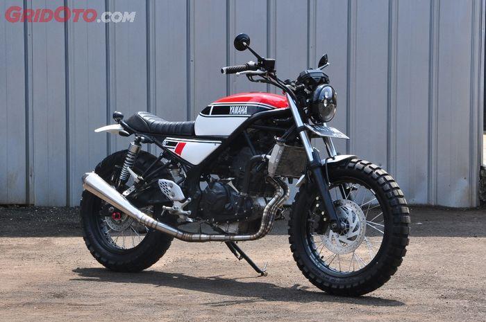 Yamaha MT-25 custom garapan Studio Motor