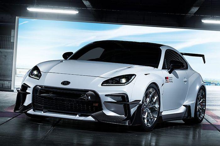 Paket modifikasi Toyota GR 86 hasil rancangan in-house tuner Toyota, TRD