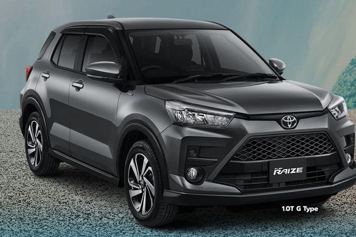 Toyota Raize 1.0T G bisa jadi alternatif menarik bagi yang tidak ingin inden lama.