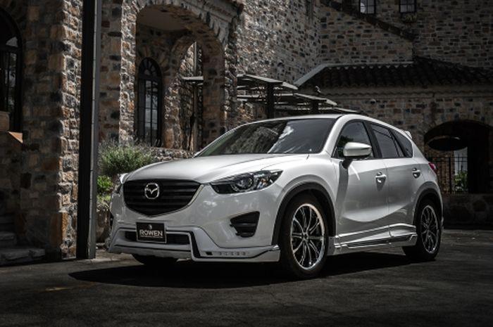 Modifiksi Mazda CX-5 lawas hasil garapan Rowen