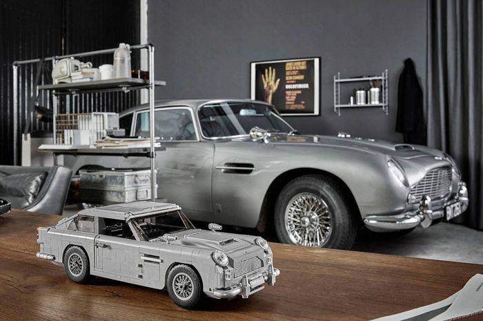 Lego Bikin Replika Aston Martin Db5 James Bond 007 Lengkap Dengan Teknologi Khas Agen Rahasia Nih Gridoto Com