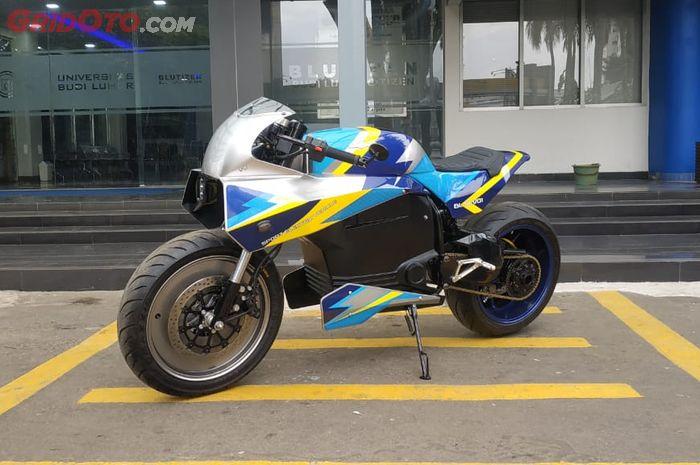 BL-SEV01, motor listrik terbaru garapan Universitas Budi Luhur