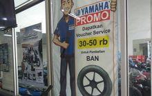 promo menarik dari yamaha dinamika motor, beli ban baru dapat potongan harga nih!