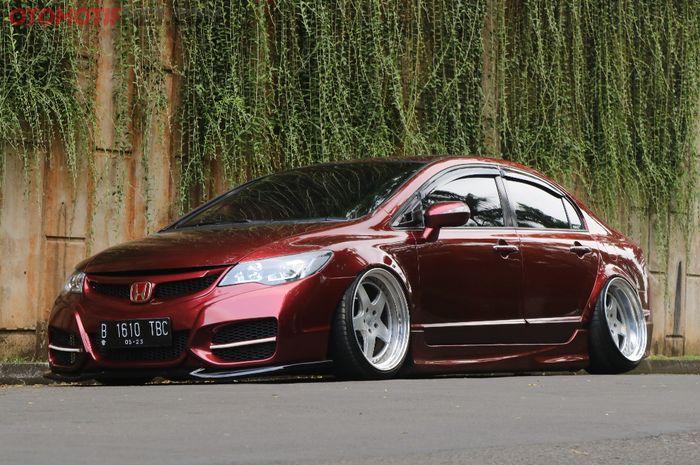 Ilustrasi Honda Civic FD
