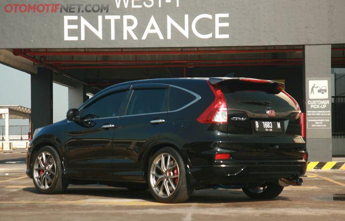 Honda CR-V awalnya mau elegan malah jadi sporty look