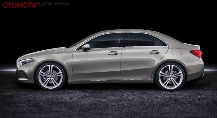 Body Samping Mercedes-Benz A200 Sedan 2021