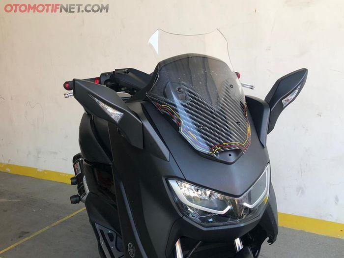 All New Yamaha NMAX Makin Mewah, Pakai Spion VND, Posisi Pindah Ke Depan