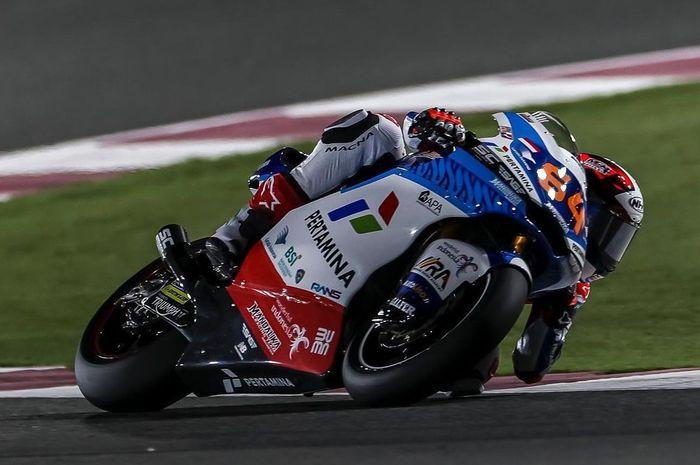 Gagal tembus 10 besar pada balapan Moto2 Doha 2021, Bo Bendsneyder malah merasa puas dengan hasil yang ia raih, ternyata ini alasannya