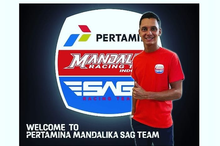 Bo Bendsneyder gabung Pertamina Mandalika SAG Team.