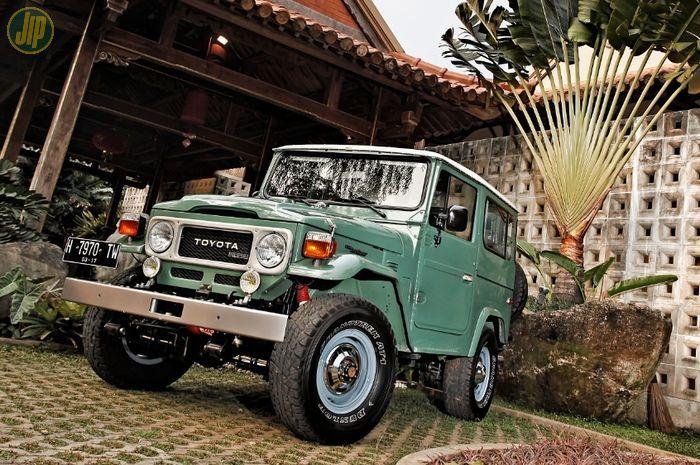 Restorasi Toyota Land Cruiser FJ40 setir kiri