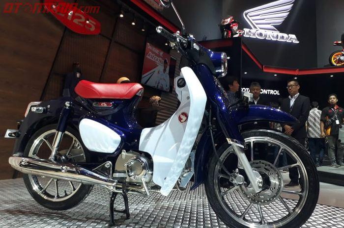 Honda Super Cub C125 di GIIAS 2018