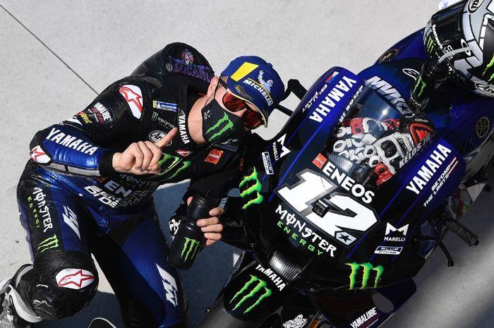 Ilustrasi Maverick Vinales selesai FP 1 MotoGP Belanda 2021