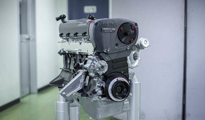 Mesin Nissan berkode RB26DETT sudah di bore-up menjadi 2.771  cc