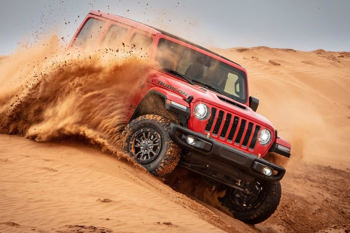 Jeep Wrangler Xtreme Recon Package dengan kemampuan off-road paling mantap