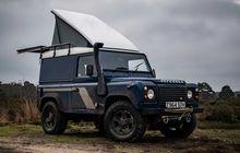 Land Rover Defender Ini Siap Diajak Berkemah, Atap Dijebol Plus Punya Kabin Fungsional