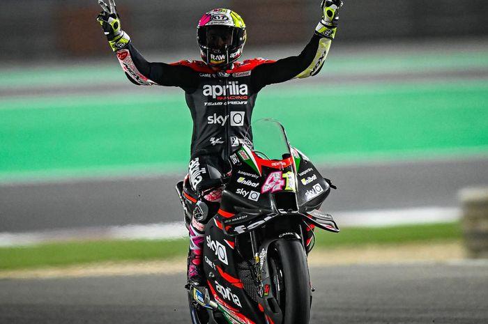 Aprilia tunjukkan performa yang cukup menjanjikan di tes pramusim MotoGP 2021, begini komentar Alex Espargaro